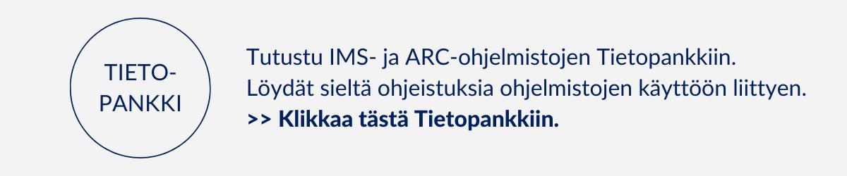 Tietopankki, IMS- ja ARC-ohjelmistot, Arter Oy