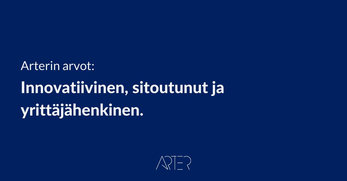 Arterin arvot, Arter Oy