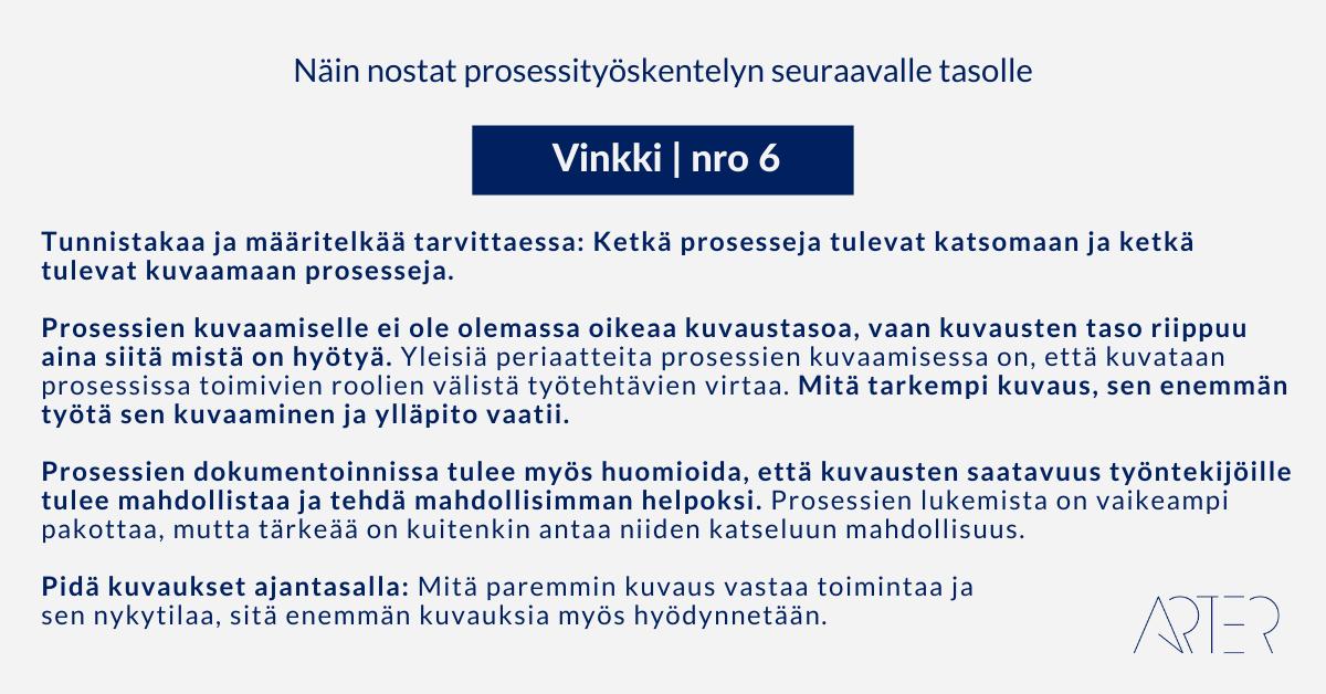 Näin nostat prosessityöskentelyn seuraavalle tasolle: Vinkki 6: Sitouttaminen prosessityöskentelyyn