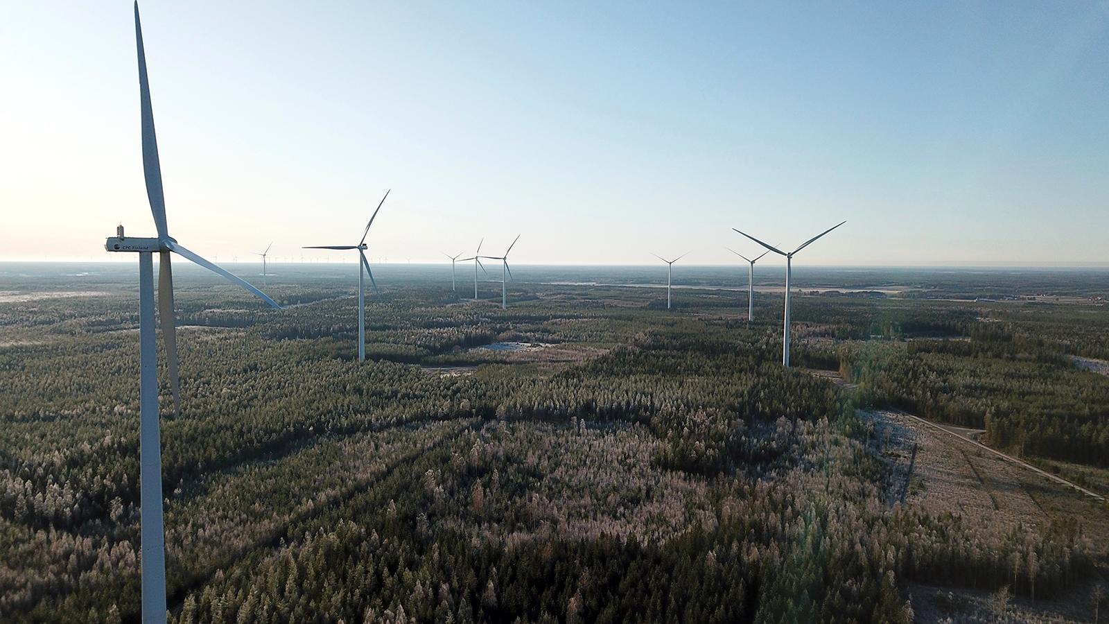 Kuva - Helen, CPC Finland Oy, Lakiakangas 3 tuulipuisto