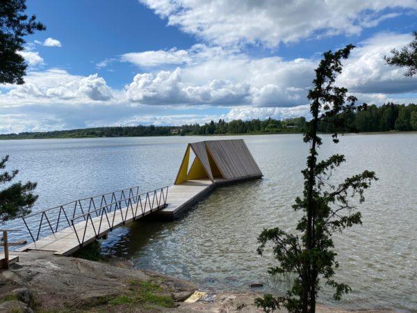 Kuva: Tuusulan kunta, Fjällbon laituripaviljonki